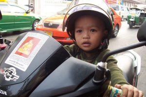 vacance moto enfant
